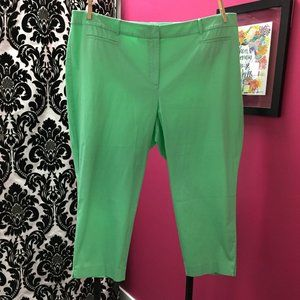 NWT Talbots The Perfect Crop Size 24W